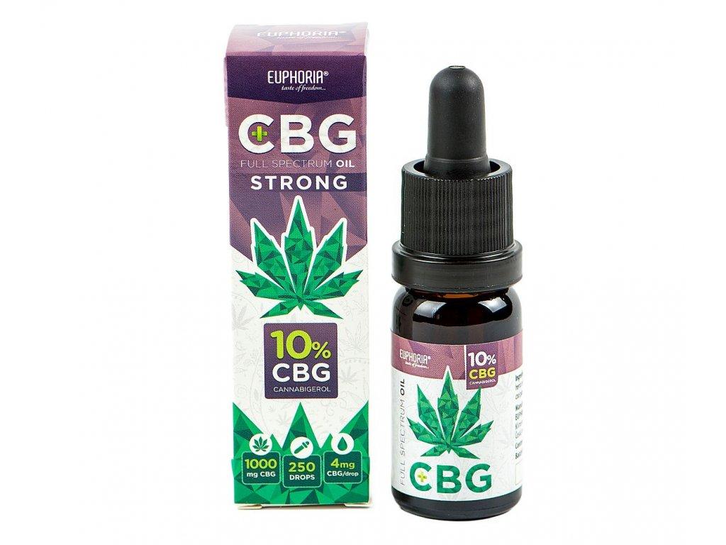 646 Euphoria CBG Oil 10% 10ml