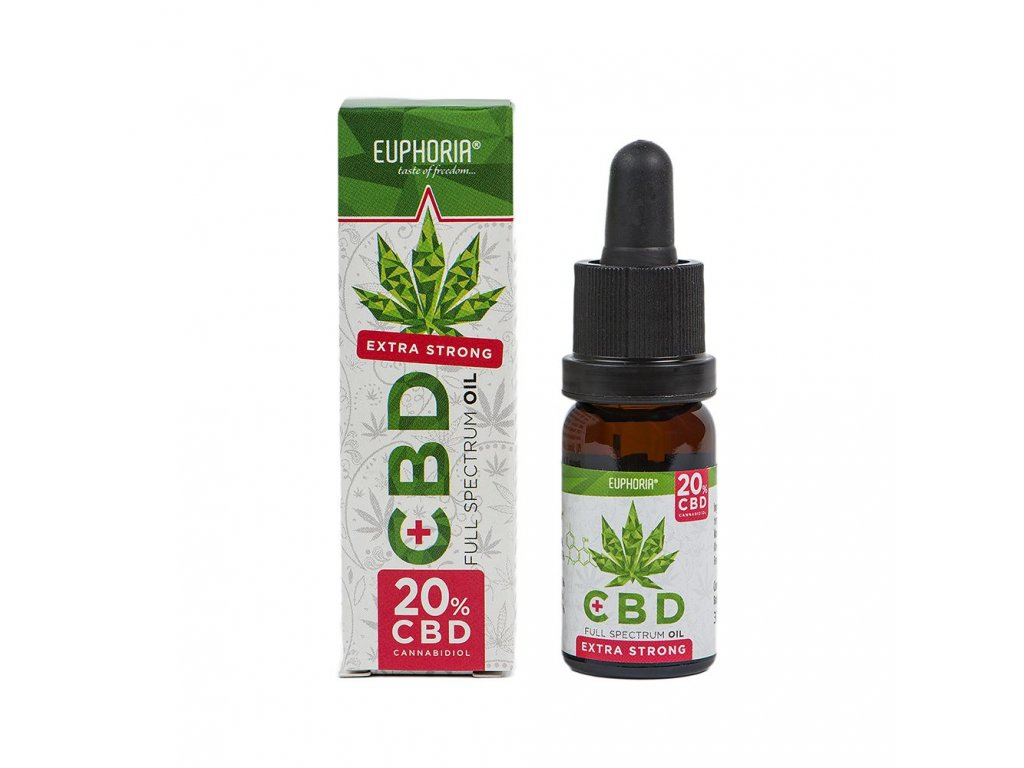 Euphoria CBD olej 20% 30 ml