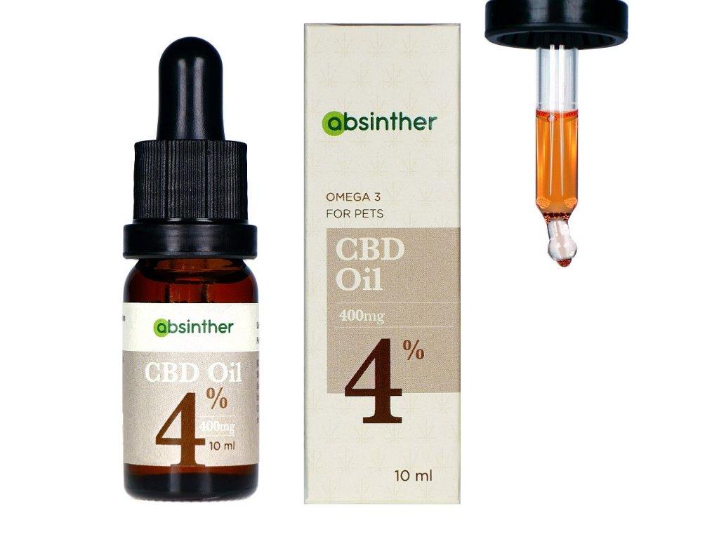 a104 absinther omega3 broad spectrum cbd oil 400mg 4 10ml