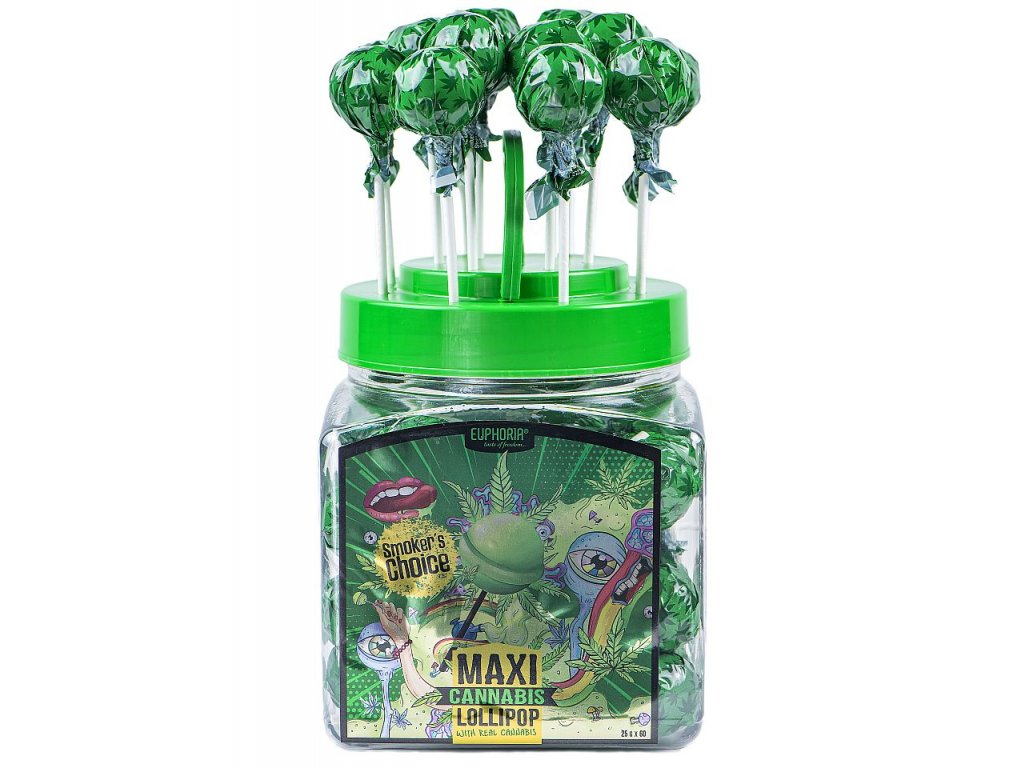 854 Euphoria Cannabis Maxi Lollipops 1