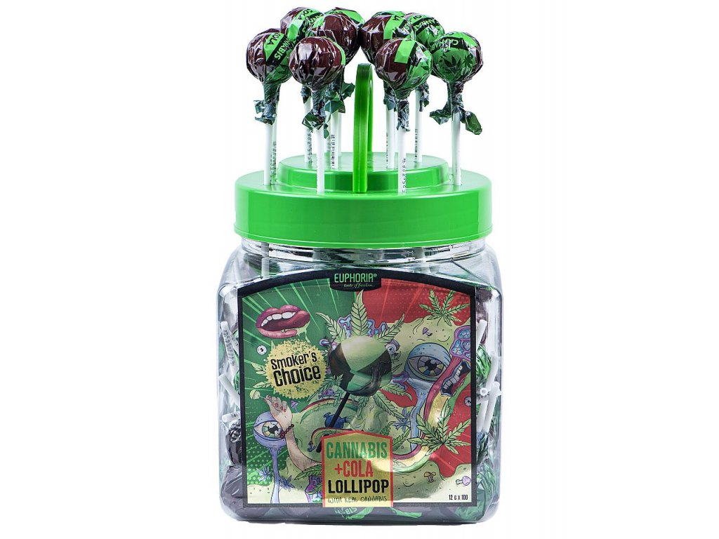 861 Euphoria Cannabis Cola Lollipops 1