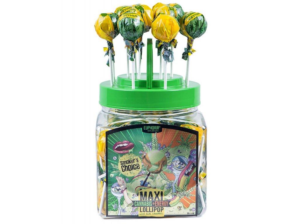 866 Euphoria Cannabis Energy Maxi Lollipops 1