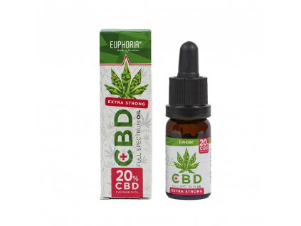 Euphoria CBD olej 20% 10 ml