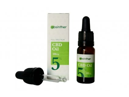 absinther cbd olej 5 10ml