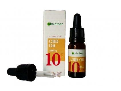 absinther cbd olej 10 10ml