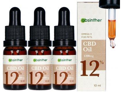 a112 absinther omega3 broad spectrum cbd oil 1200mg 12 10ml