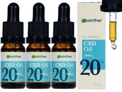 absinther cbd olej 20 10ml