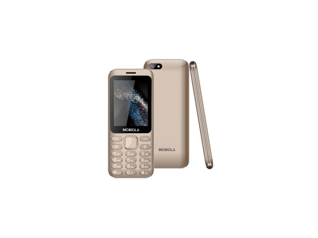Mobiola MB3200 Dual SIM zlatý