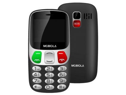 Mobiola MB800 Dual SIM černý