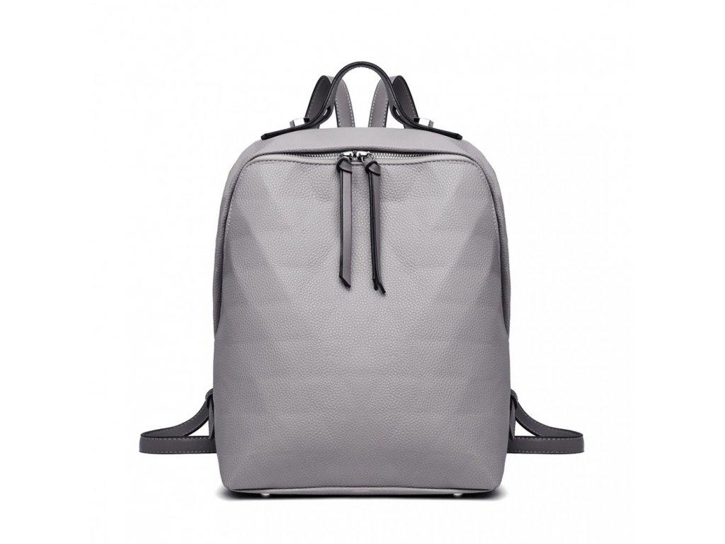 Elegantní dámský batoh Trinity - šedý