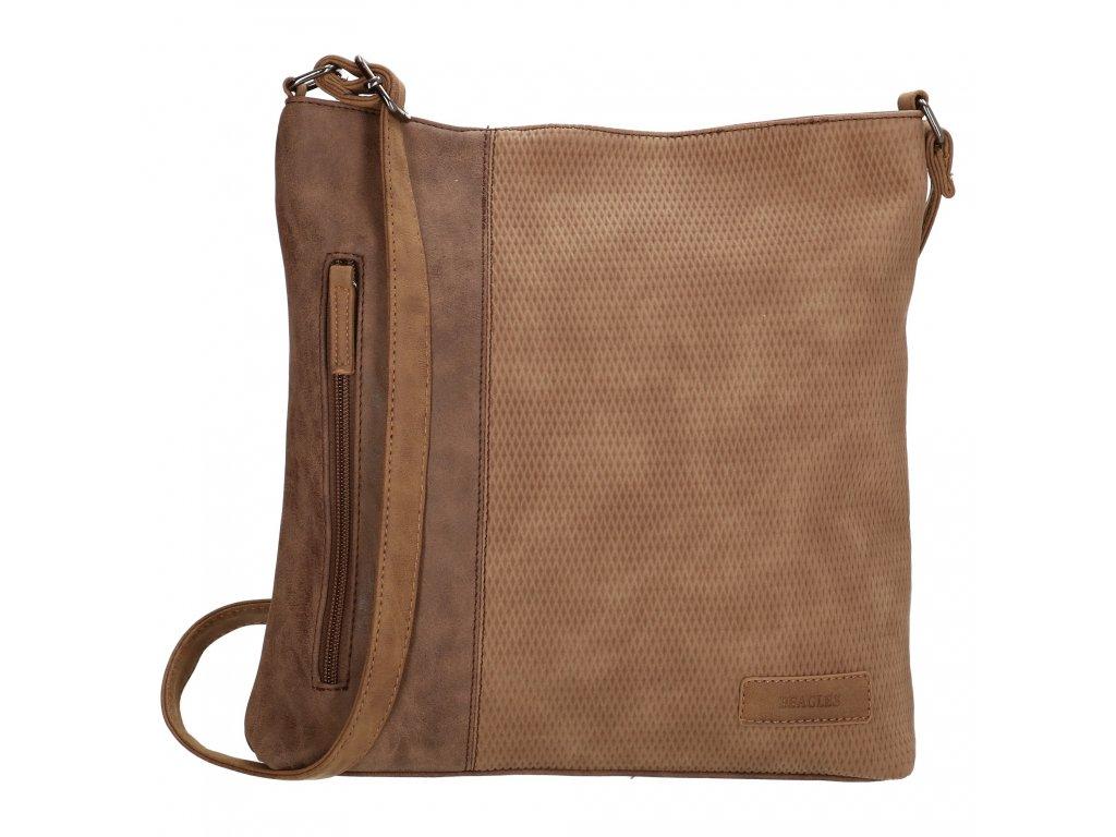 Crossbody taška Beagles Brunete - hnědá