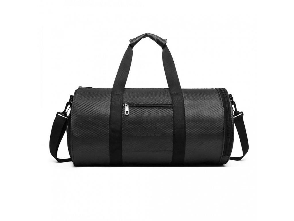Pánská sportovní taška Kono Athletic - černá