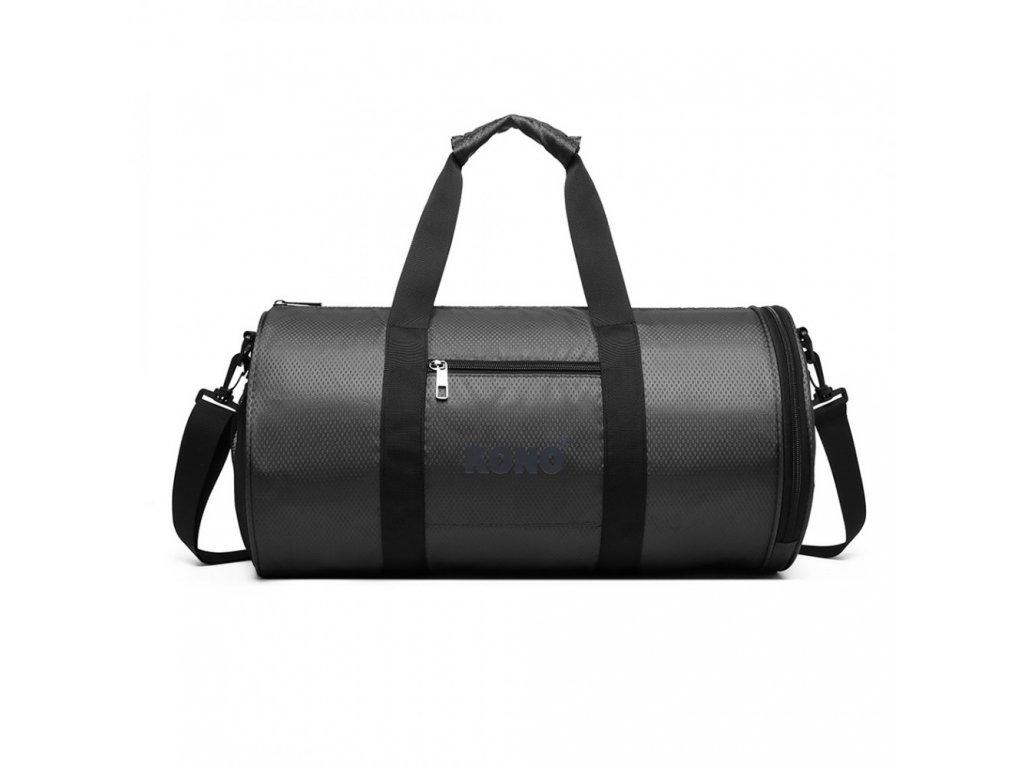 Pánská sportovní taška Kono Athletic - šedá