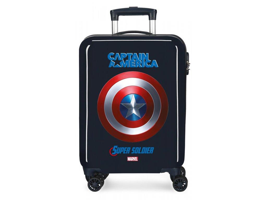 Kabinové zavazadlo na kolečkách Capitain America Marvel