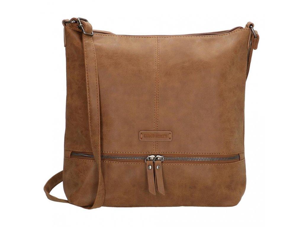 Dámská taška na rameno ENRICO Benetti Nuoméa - camel