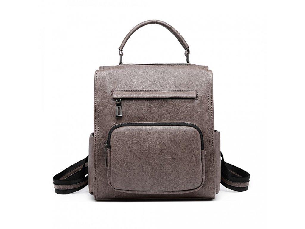 Dámský módní batoh Roxy - šedý