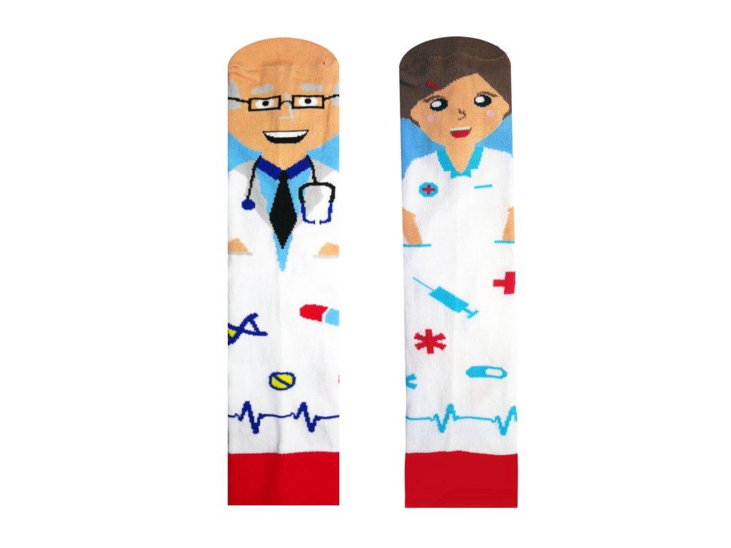 Ponožky Doktor a Sestřička
