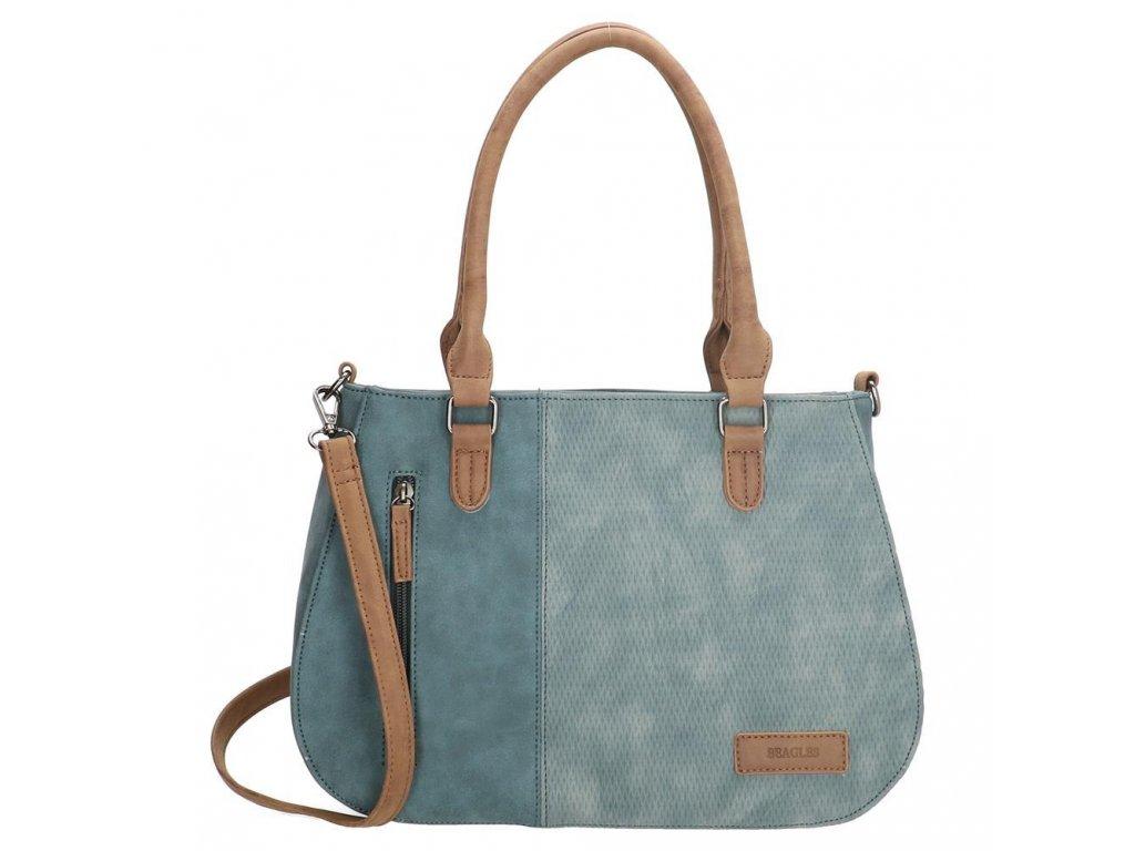 Dámská kabelka Beagles Brunete - džínsová modrá