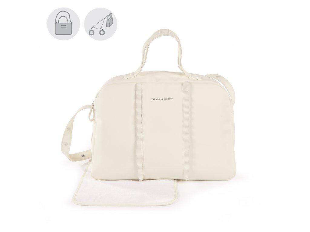 Přebalovací taška na kočárek Pasito a Pasito Nido Volante - béžová