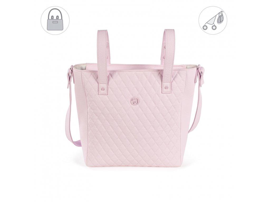 Přebalovací kabelka na kočárek Pasito a Pasito María - růžová