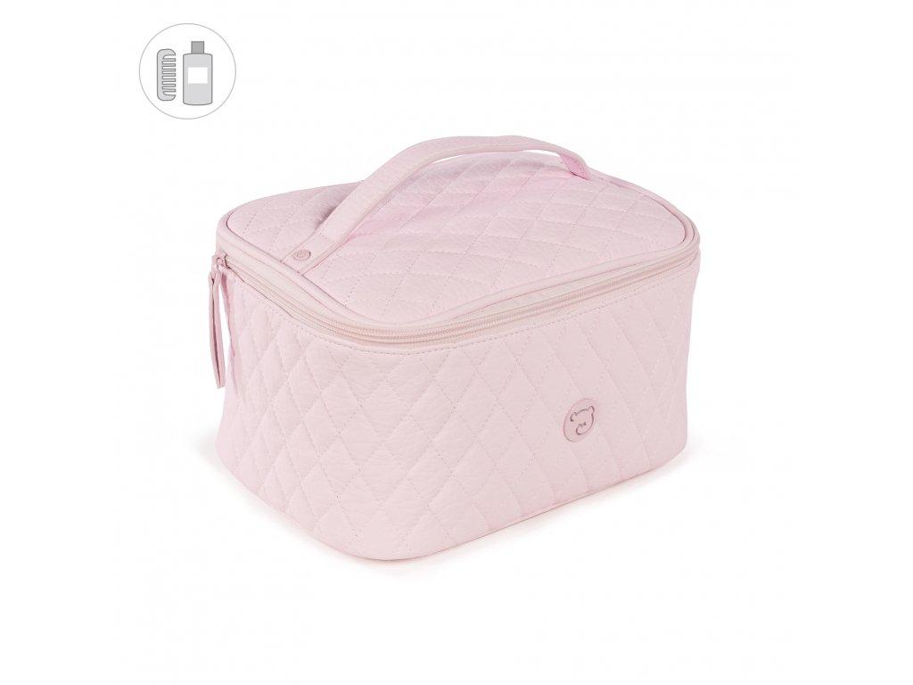 Toaletní taška Pasito a Pasito María - růžová