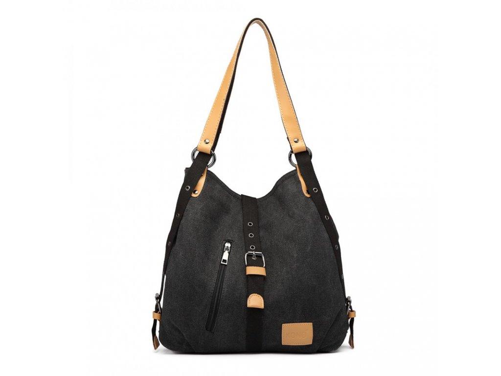 Taška a batoh v jednom Savannah Kono - černá