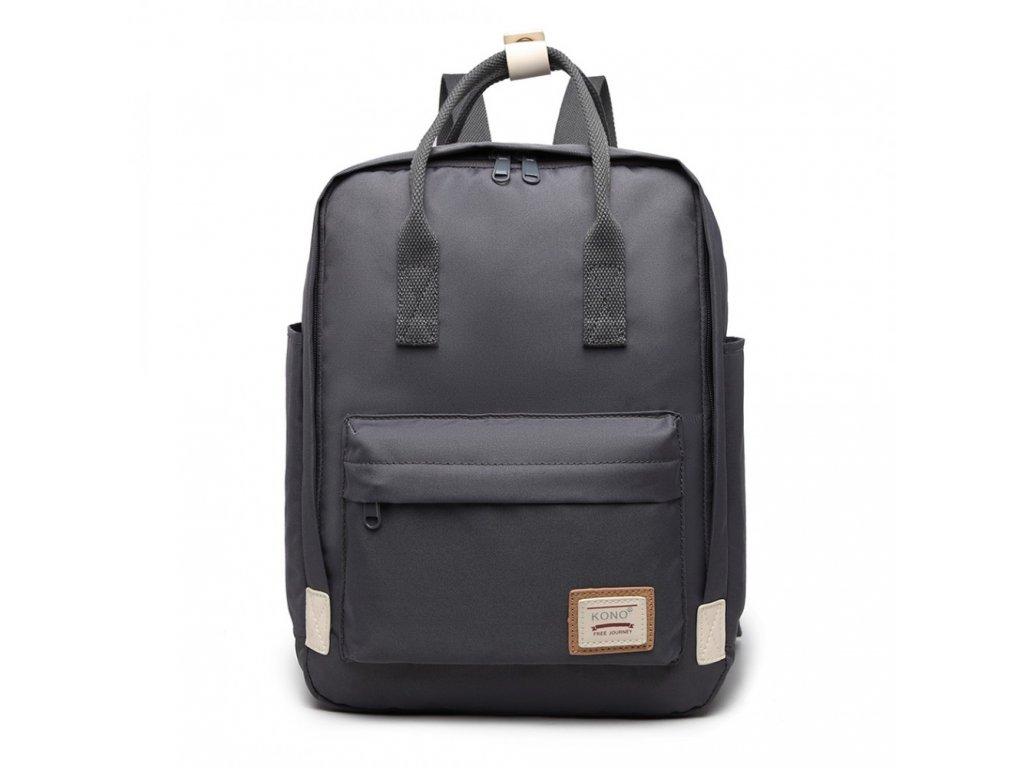 Laptop batoh Kono - šedý