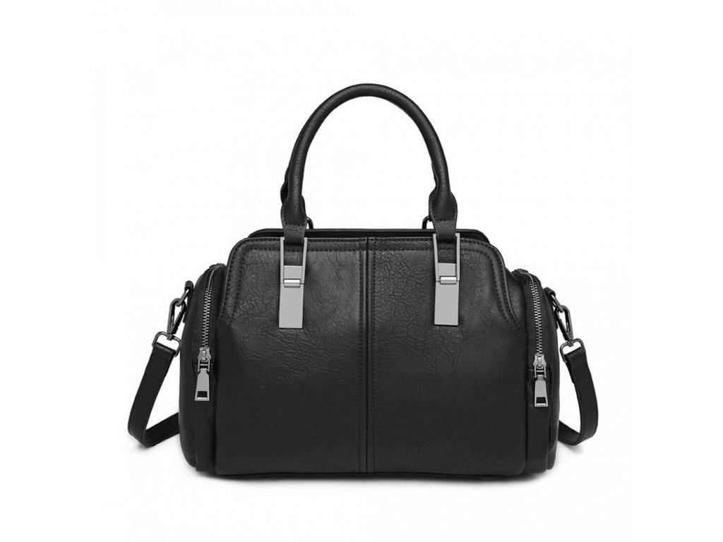 Dámská elegantní kabelka Miss Lulu Dasha - černá