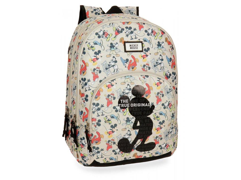 Dvoukomorový batoh Mickey True Original 44 cm