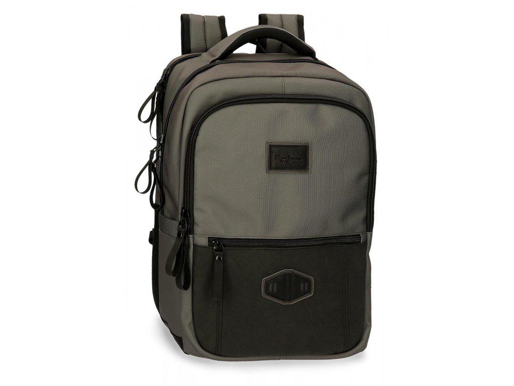 "Dvoukomorový laptop batoh Pepe Jeans 15.6 ""VILLAGE"