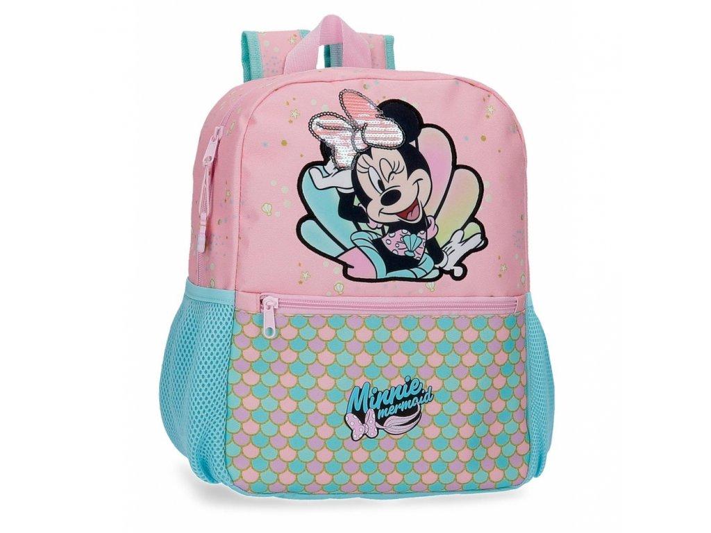 Jednokomorový batoh Minnie Mermaid 32 cm