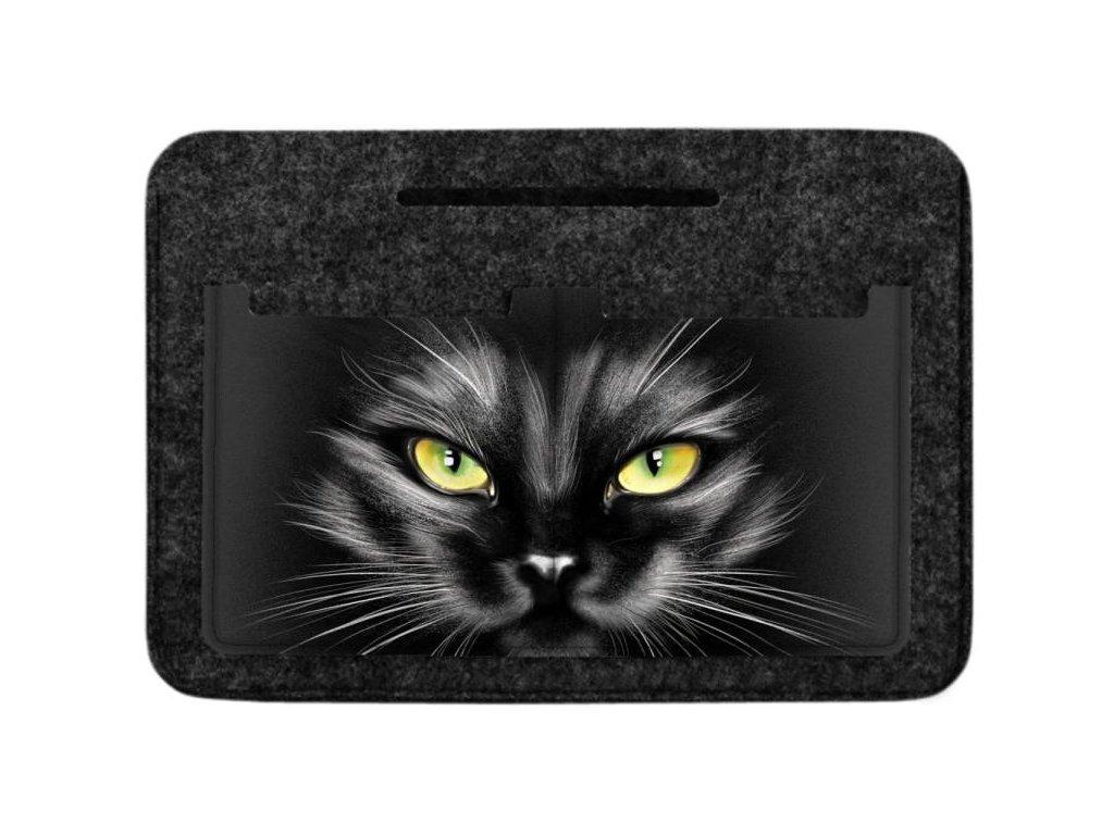 Organizér do kabelky černý - Black Cat