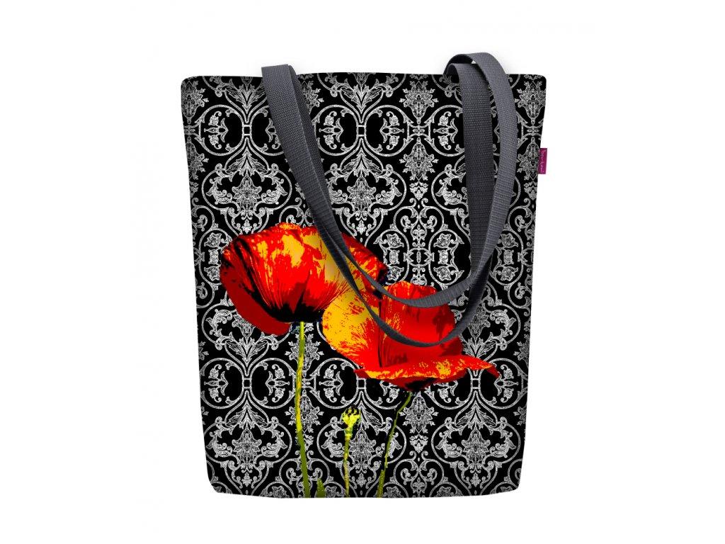 Dizajnová taška na rameno Sunny - Poppies