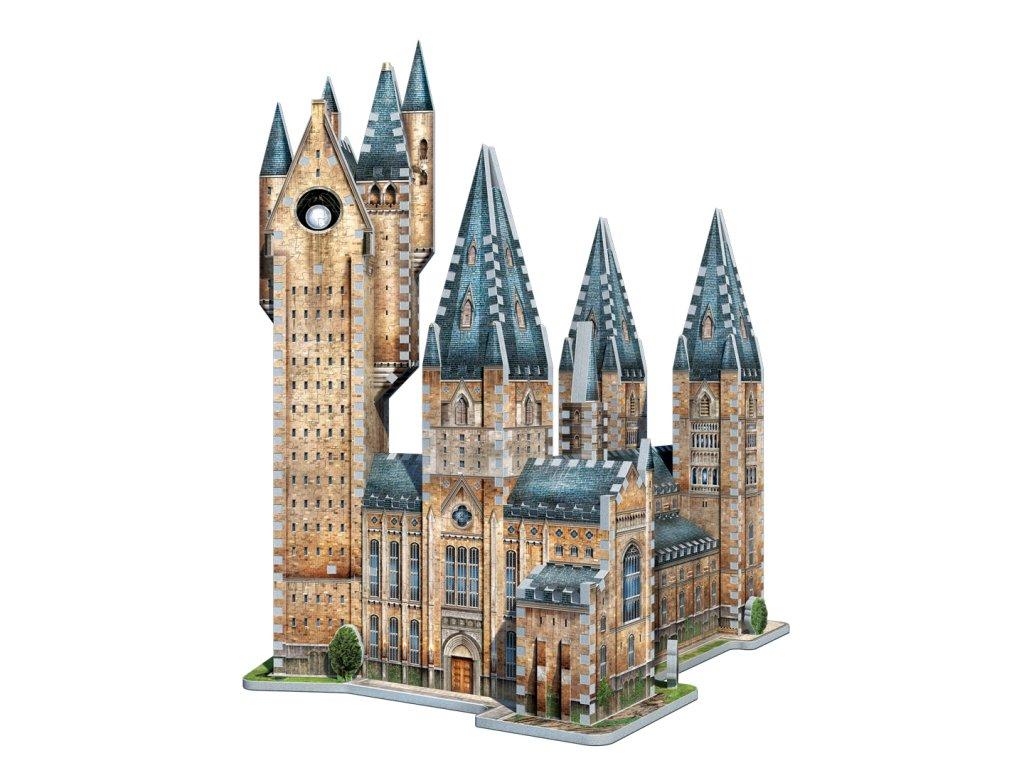 Harry Potter 3D Puzzle: Bradavice - Astronomická věž, 875 dílků