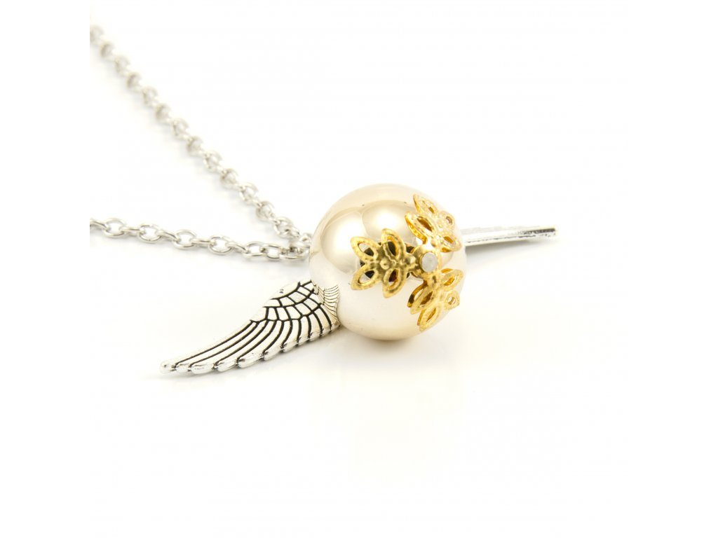 Harry Potter Zlatonka náhrdelník