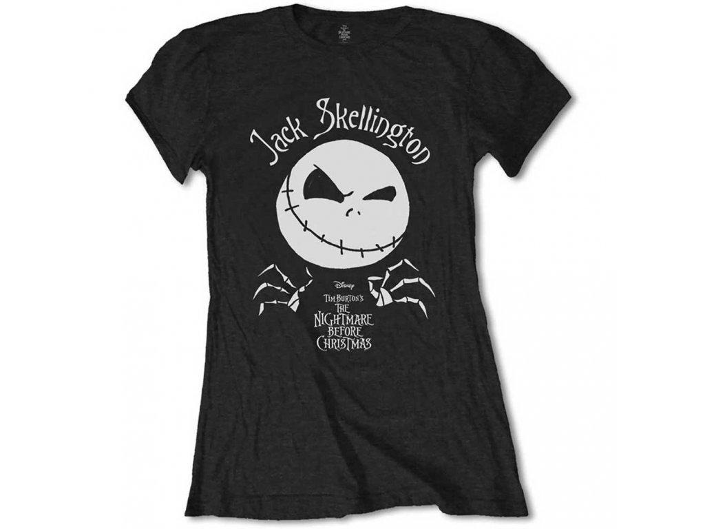 Dámske tričko The Nightmare Before Christmas Jack Skellington