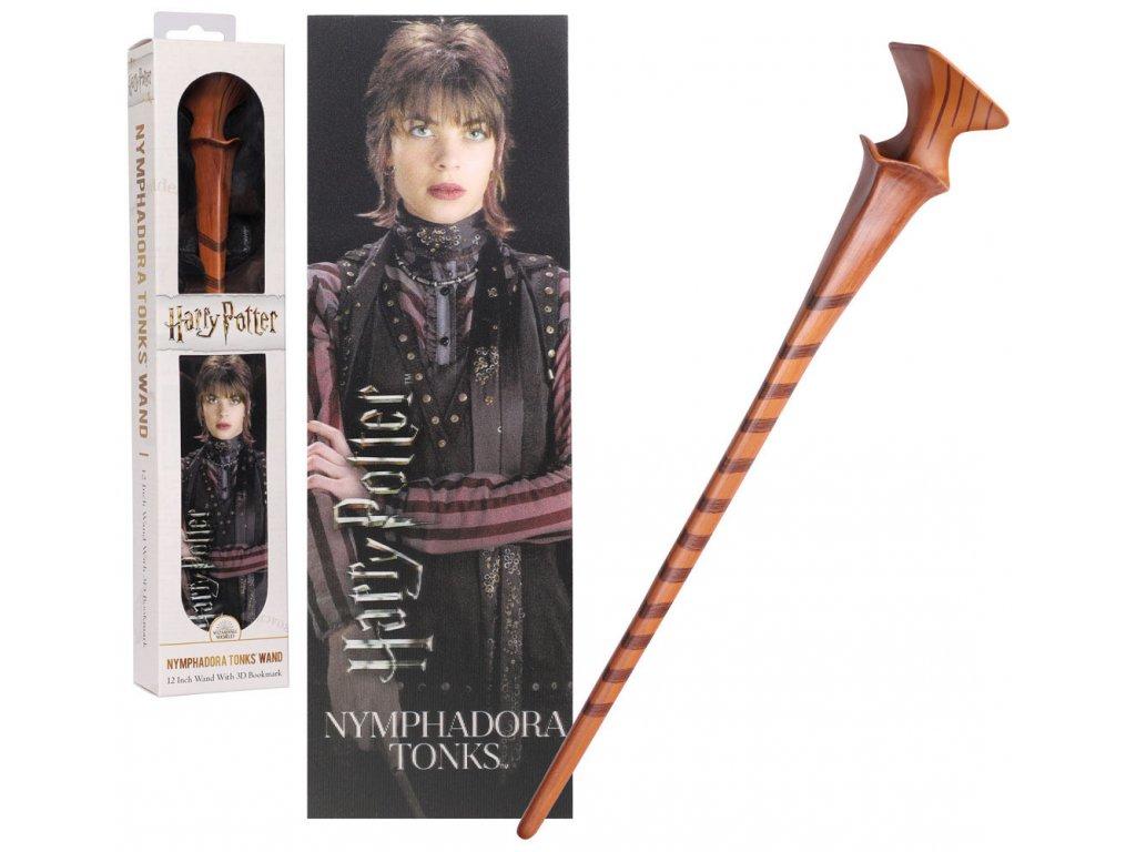Originální hůlka Nymphadora Tonks 30 cm + 3D Záložka