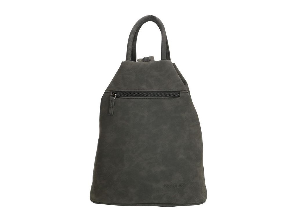 Dámský trojúhelníkový batoh Beagles Alcobendas - černý