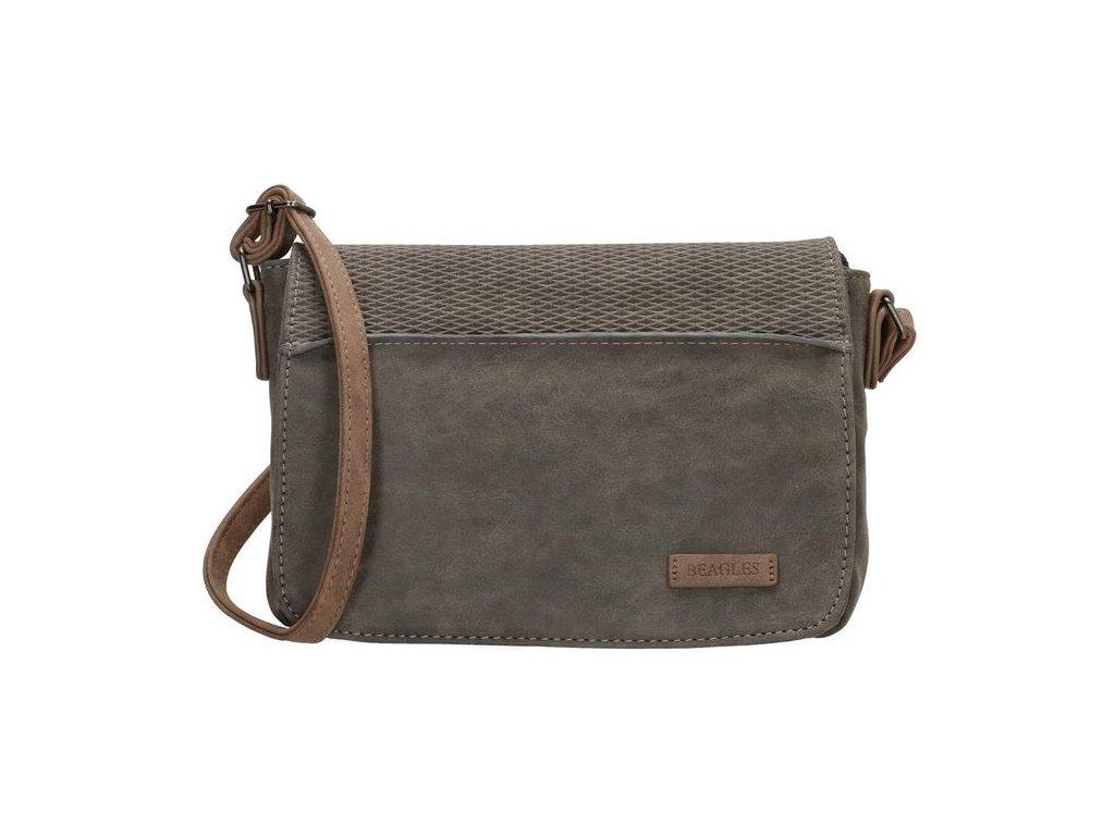 Malá kabelka crossbody Beagles Brunete - šedá