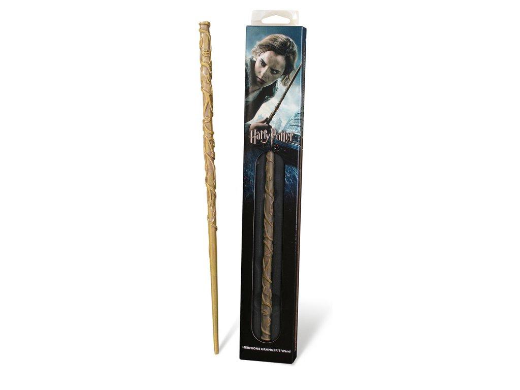 Harry Potter sběratelská pryskyřicová hůlka Hemiony Grangerové