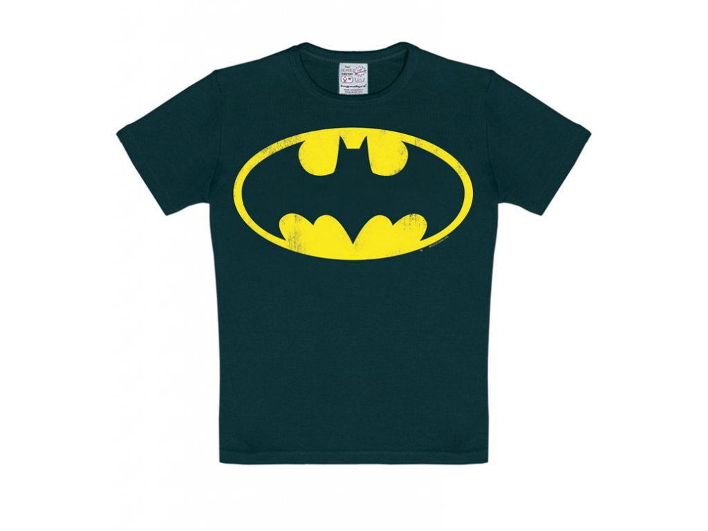 Dětské tričko Batman - černé (Velikost 104)