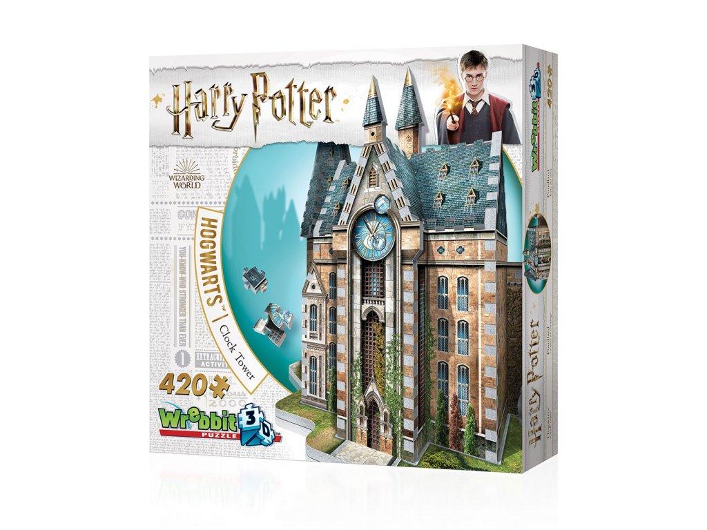 HARRY POTTER 3D PUZZLE CLOCK TOWER (420 kusů)
