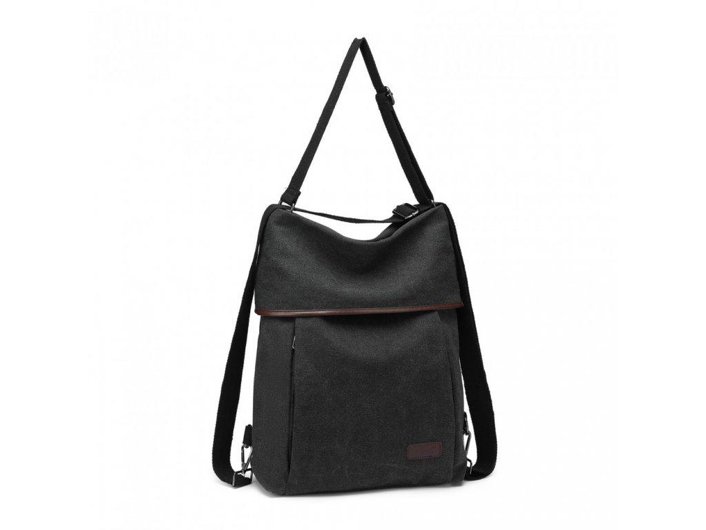Taška a batoh v jednom Kono Saviora - černá