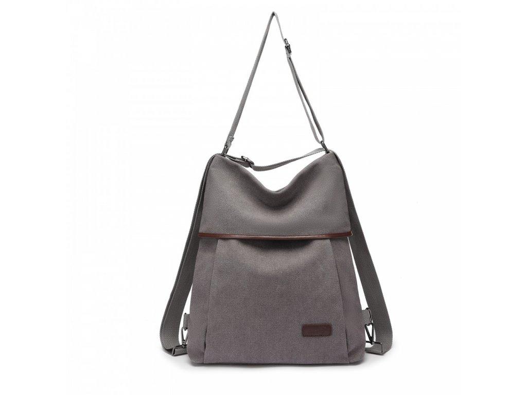 Taška a batoh v jednom Kono Saviora - šedá