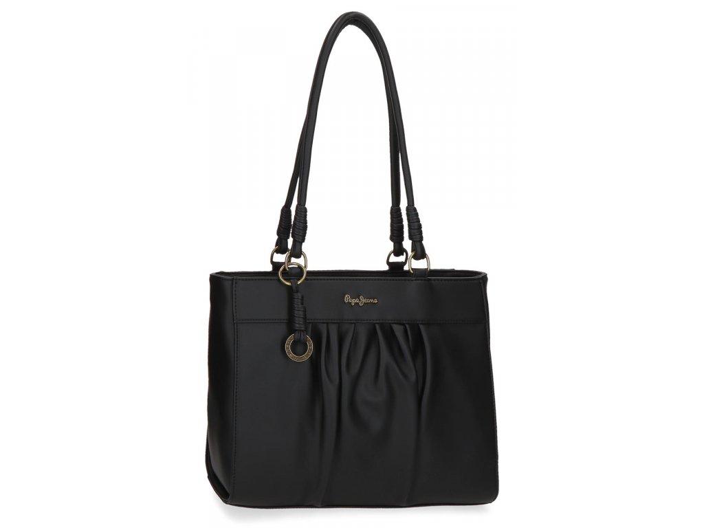 Dámská kabelka na rameno Pepe Jeans IRIA - černá