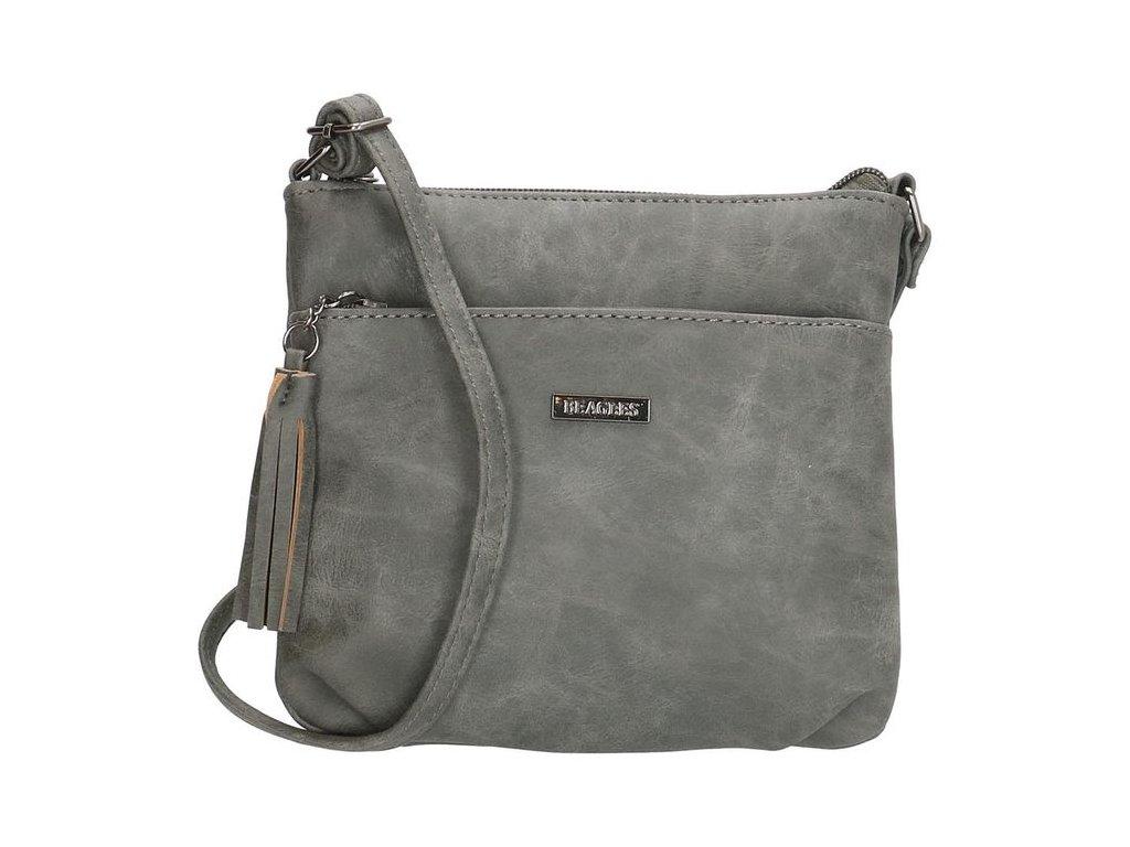 Dámská menší crossbody taška Beagles La Costera - tmavě šedá