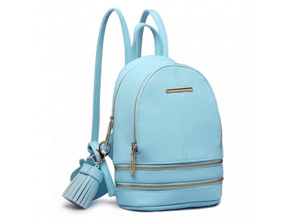 Roztomilý Designový Batůžek - Modrý