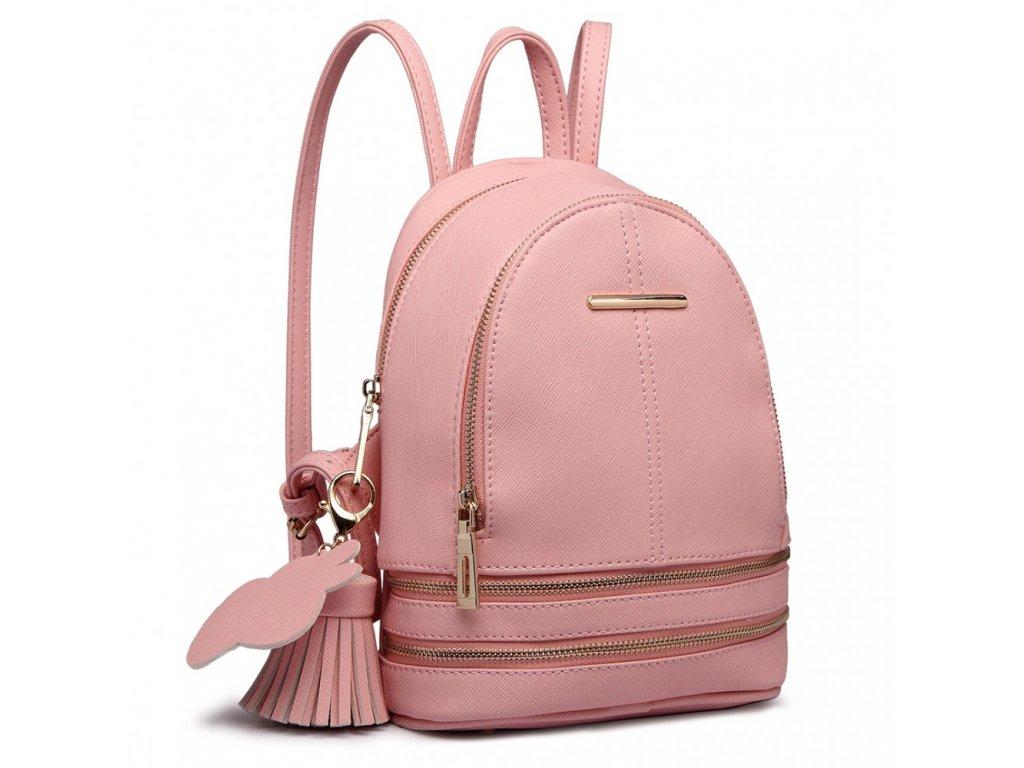Roztomilý Designový Batůžek - Růžový