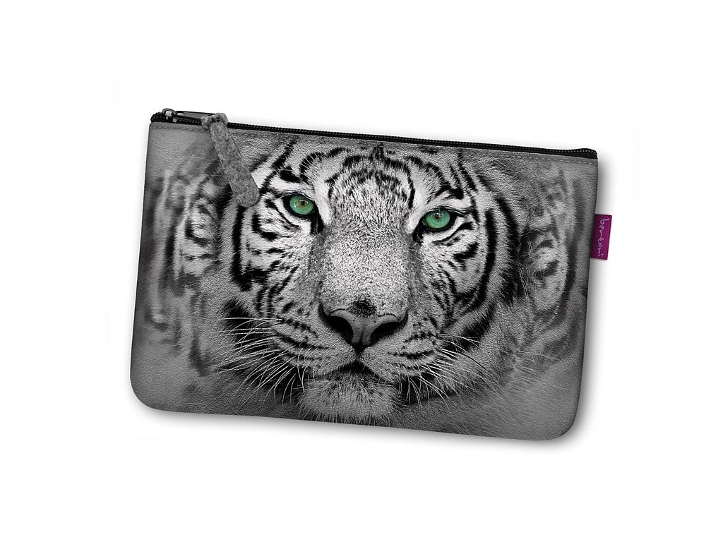 Kosmetická eko taška Tygr