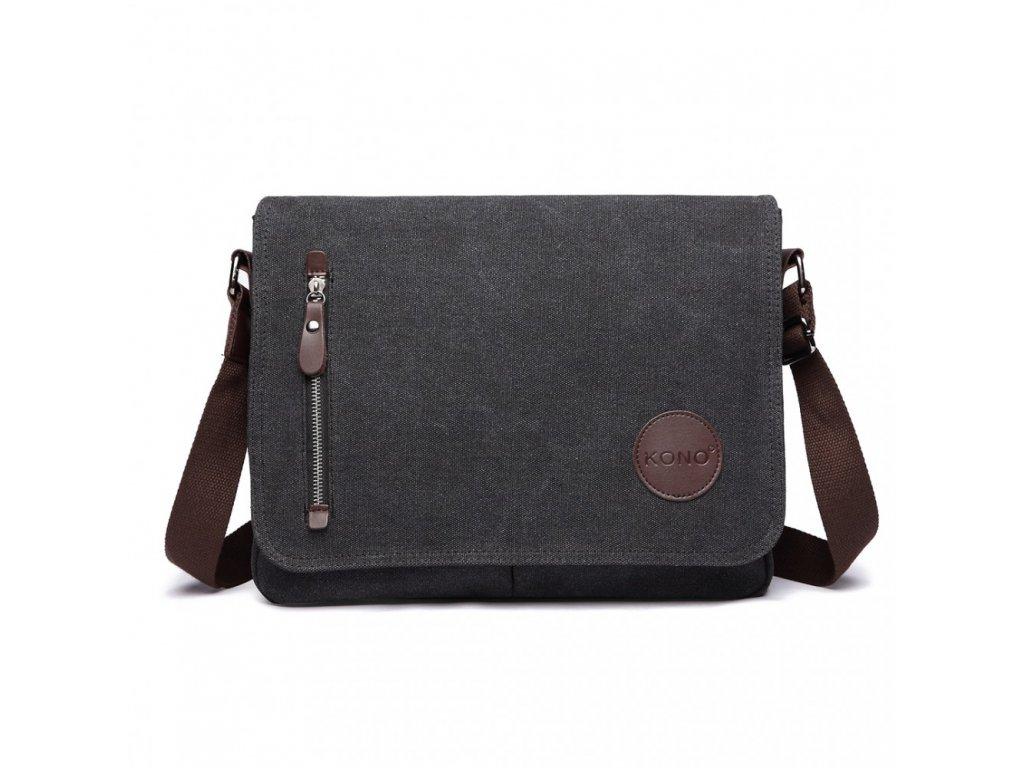 Pánská crossbody taška - černá